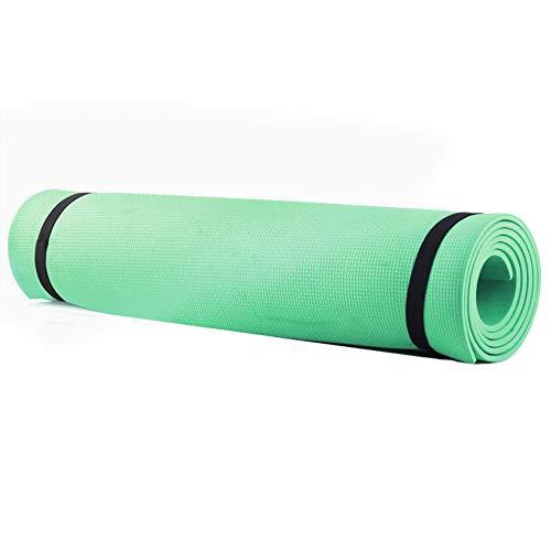 Aoewise Rilievi di Esercitazione di Forma Fisica di Sport del Tappeto Antiscivolo della stuoia di Yoga della Palestra di 4mm Eva Pilates