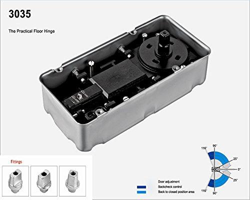 Closers Door Model 3035 Medium à sized Cylinder 25N soil. Le stage 130KG 1200mm une taille inférieure ou égale à deux apeed ° adjustable 90