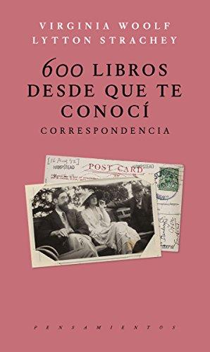 600 Libros desde que te conoci: Correspondencia (PENSAMIENTOS)