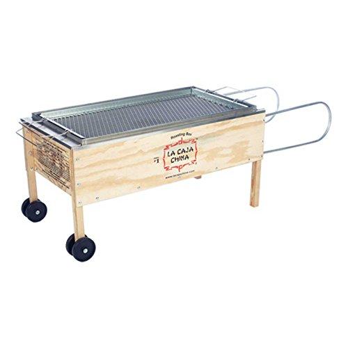 La Caja China Kistensau #1 Roasting Box Kiste Schwein BBQ Grill