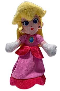 Super Mario Character Princess Peach 8 Inch Stuffed Plush Toy Doll