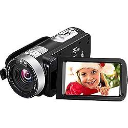professional Camcorder Camcorder 4K 30MP Digital Camcorder Super HD camcorder with microphone…