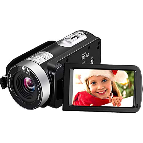 Camcorder Video Camera 4K 30MP Digital Camcorder...