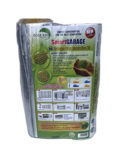 SmartGARAGE- Reflective Garage Door Insulation Kit 1 car - 9'W x 7'H (Reflective/Reflective)