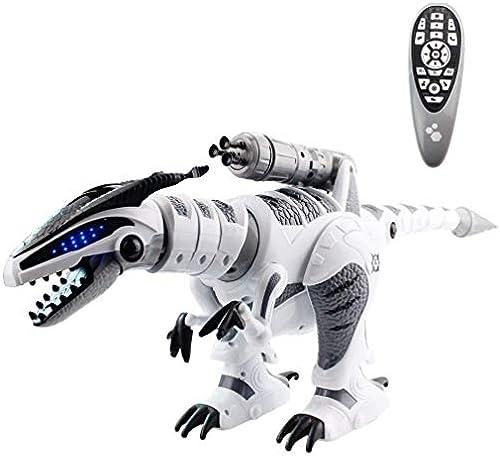 Fernbedienung Dinosaur Spielzeug, Tierspender Walking mit Song Flashing Light Electric Robot Action Figuren Electronic Pet Toys Geschenke für Kinder Kinder