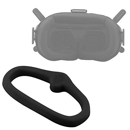 Honbobo Augenbinde Augenpolster für DJI FPV Brille V2 (schwarz)
