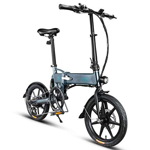 fuchsiaan Bicicleta Eléctrica Plegable D2S de 3 Velocidades, Equipada con Motor de...
