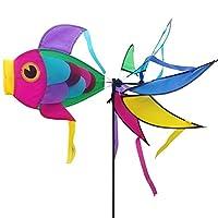 ZooooM 魚 さかな 風車 屋外 キャンプ キッズ 子供 ガーデン スピナー かざぐるま 風 最高 ZM-SAKASAKA