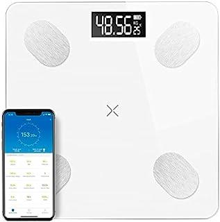AstiVita Digital Bluetooth Body Fat Scale with APP iOS/Andriod, BMI, BMR (WHITE)