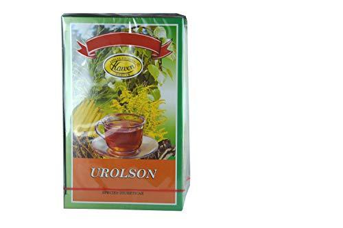 Urolson - 6 harntreibende Kräuter, 30 x 2g, 60g, reinigen, bei Nierensteinen, Nierensand, hoher Harnsäure, scheiden Toxine, Stoffwechselprodukte aus, für Entwässerung