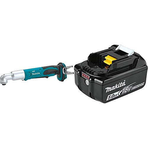 Makita XLT01Z 18V LXT Lithium-Ion Cordless Angle Impact Driver with BL1850B 18-Volt 5.0Ah LXT Lithium-Ion Battery
