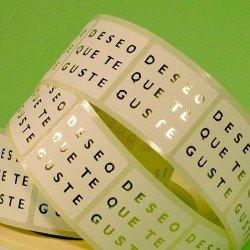 Etiquetas Regalo Adhesivas Espero Que Te Guste Marca etiquetas g&p crear