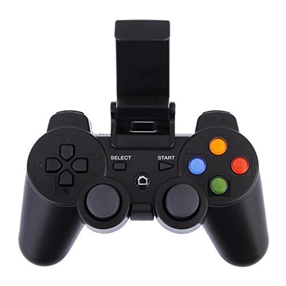 聴衆過去対立Panda's Mall New Wireless Bluetooth Game Controller Joystick Remote Gamepad for Android / iOS Smartphone iPhone/iPad/Tablet - Black by Panda's Mall [並行輸入品]