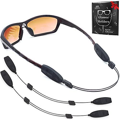 Eye Glasses String Strap Holder - No Tail Glasses Strap - Adjustable Eyeglass Strap - Wired...