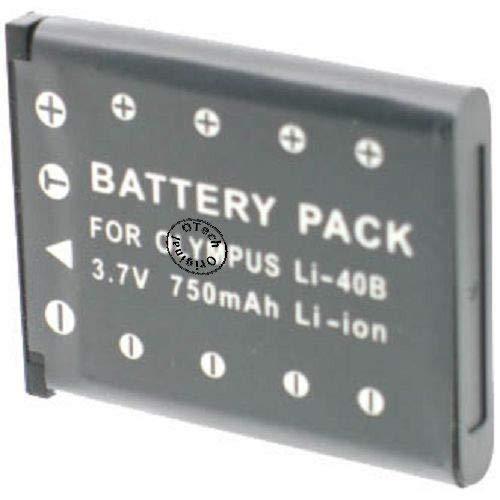Batería para cámara de fotos Pentax Optio L40
