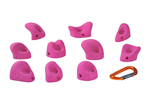 Entre Prises Klettergriffe Toe, Kinderklettergriffe, Farbe:grau