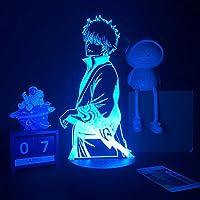 男の子の女の子の寝室の装飾Ledナイトライトの誕生日ギフトマンガのガジェットのためのアニメLEDライト私のヒーローアカデミア3D色RGB調色 常夜灯 かわいい 雰囲気作り 16色 子供の部屋の装飾ホリデーライト 人気 アニメ -リモコン