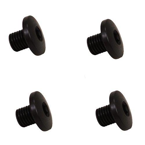 Hogue 38009 P238/P938 Screws, 4 Hex Head, Short, Black Finish