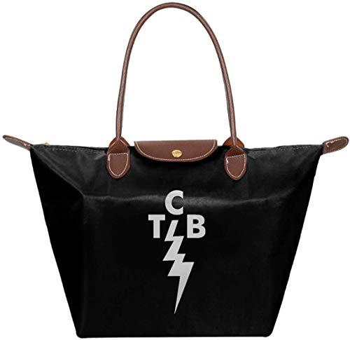 gxianyuyib TCB Elvis Schulter Tote Bag Handtasche Handtasche für Frauen