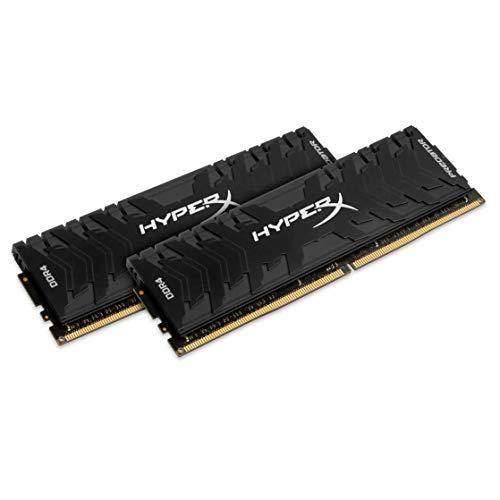 HyperX Predator HX436C17PB4K2/16 Memoria DDR4 16 GB Kit (2 x 8 GB), 3600 MHz CL17 DIMM XMP
