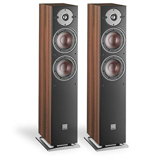 Dali Oberon 5 Floorstanding Speakers (Pair) (Dark Walnut) (Refurbished)