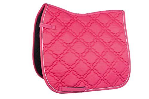 HKM Schabracke -Bologna-, pink, Dressur
