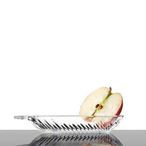 BORGONOVO Grattugia per Mele in Vetro Frutta