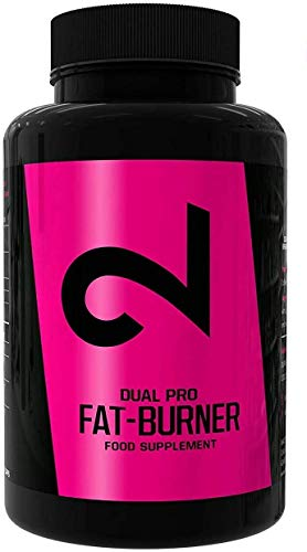 DUAL Pro F-Burner v2 + EBOOK | Even Without Sport | for Women and Men | 100 Vegan Capsules | Active Substances Complex | Without Additional Additives | High Dose | 100% Natural | Vegan | Made in US