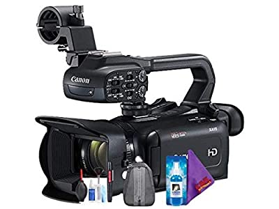 Canon XA11 Compact Full HD Camcorder with HDMI and Composite Output + Pro Accessories Bundle by Canon