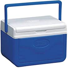 Ice Cooler. 5-Quart Ice Chest with Shield This Ice Box is The Best Way to Keep Food, Drinks & Beer Cool for Outdoor Party, Camping, Travel, Picnic, Fishing, Beach, Sports and Pool. (Blue)