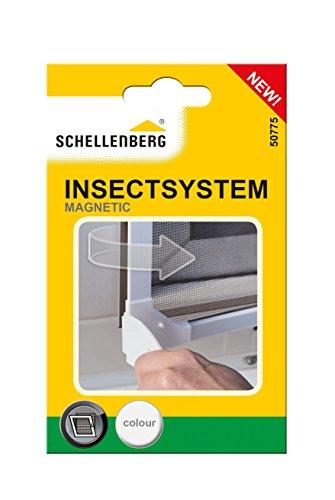"""Schellenberg 50775 Eckverbinder-Set für Insektenschutz-Magnetrahmen """""""" Weiß"""