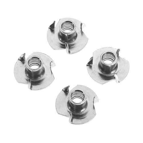 Einschlagmuttern Einschlagmutter ISO 6930g / DIN 6930 Stahl verzinkt gewinde M3 bis M12 (10, M4 x 6 mm)
