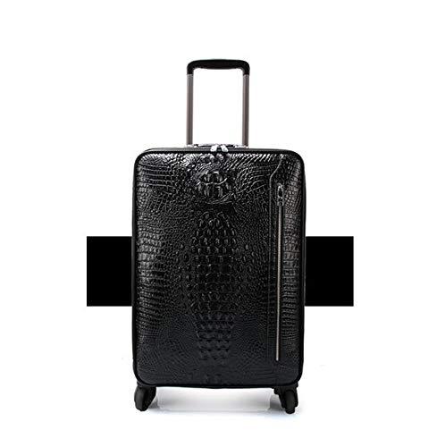 AGBFJY mannen handbagage lederen trolley koffer voor zaken