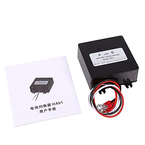 Goick Balanceador de batería-Sistema Solar Balanceador de batería Ecualizador para batería de Plomo-ácido Cargador HA01