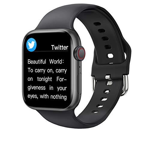 LJMG T800 Smartwatch para hombres y mujeres para IOS Android DIY Dial Smart Watch 2021 para Android IOS 1.72 pulgadas Bluetooth Call,D