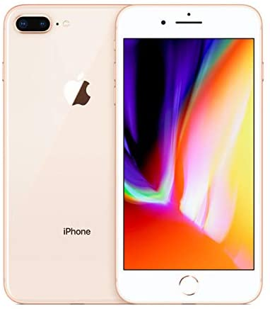 Apple iPhone 8 Plus, 64GB, Gold – For AT&T / T-Mobile (Renewed)