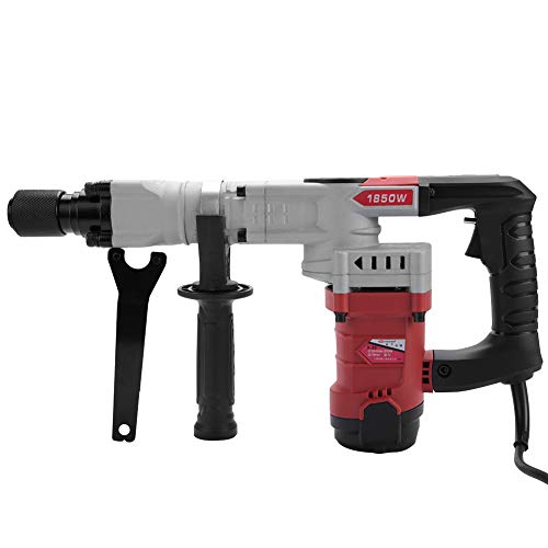 220V 1850W Multifunctional Jack Electric Demolition Hammer Breaker Concrete Punch(AU Plug)