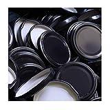 100 Stück X to 70 mm Schwarz Schraubdeckel für Gläser • Twist Off Deckel Verschluss Ø 70mm • Ersatzdeckel To70 • 25,50,100,150,200,250,500 Stück • Große Auswahl Verschiedene Größen und Farben