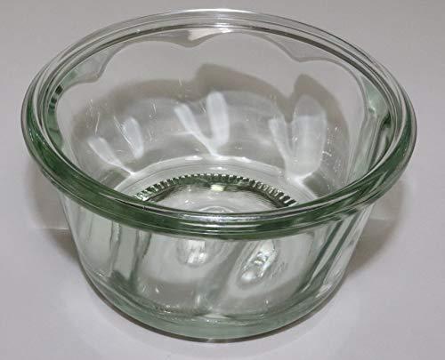 Weck Glas 6 280ml Gugelhupf Form RR100 mit Auswahl Zubehör im Original Weck Karton (Mit Glasdeckel, Ringen und Klammern)