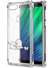 Suhctup Funda Transparent Compatible para Xiaomi Redmi 5+ Plus,Carcasa Protectora [Antigolpes] Suave Silicona TPU Bumper Cojín de Aire de Cuatro Esquinas Protector Gel para Redmi 5+ Plus,A2