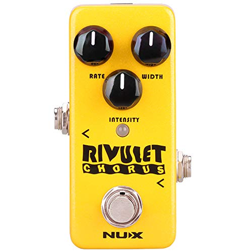 NUX Mini Core Rivulet Digital Chorus Guitar Pedal Analog Chorus Effect