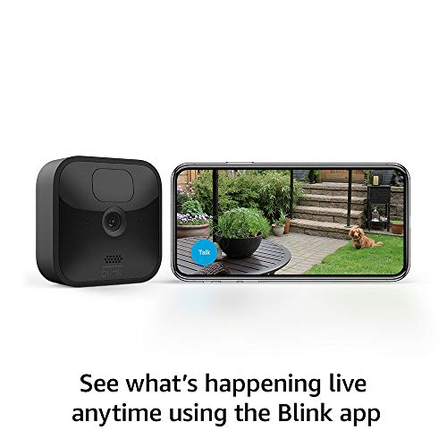 All-new Blink Outdoor and Indoor – wireless, HD security cameras with two-year battery life and motion detection – 6 camera kit
