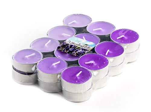 DARO DEKO Duft Teelichter Lavendel - 96 Stück