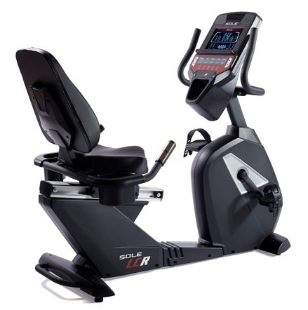Sole Fitness LCR Bluetooth Recumbent Professionale