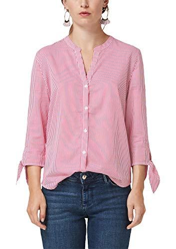 s.Oliver Damen 14.908.19.2898 Bluse, Rosa (Pink Stripes 44g2), (Herstellergröße: 36)