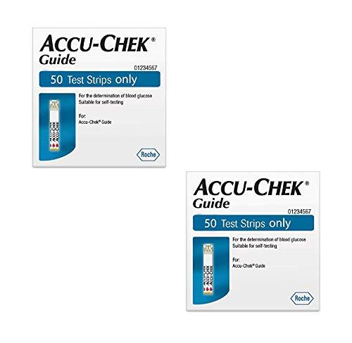 Accu Chek Guide Teststreifen 50 ct, 2 Pack - 50 Count