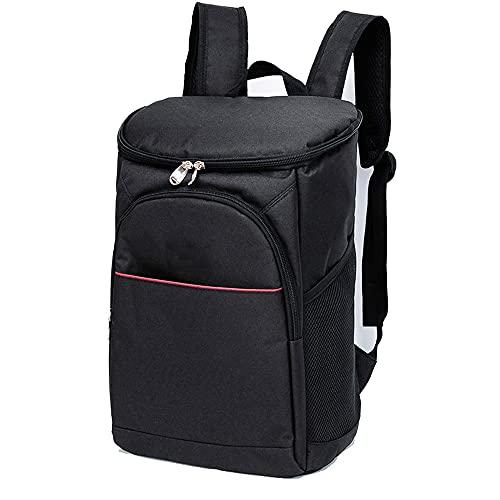QQWJSH Rucksack Picknicktasche Groß 17 Liter Isolierbeutel Eisbeutel Aluminiumfolie wasserdichte Tasche Outdoor Travel Reisetasche Kann Wasser halten