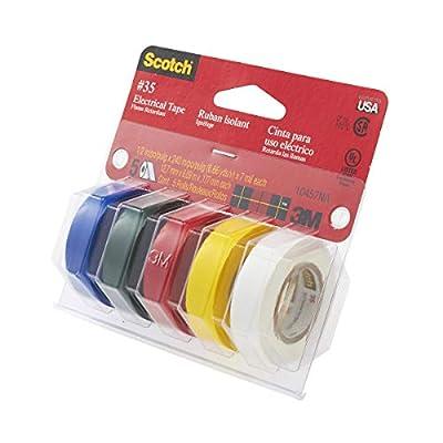 3M Scotch #35 Electrical Tape Value Pack