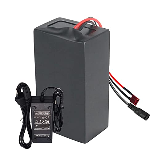 FREEDOH E-bike Lithium Battery Pack 48V 22.5Ah 13S9P Lithium-ion Battery, Adaptation 1100W Motor, for Electric Wheelchair, Electric Motorcycles, Electric Bicycles, with BMS+ Charger,T Plug