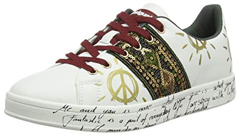 Desigual Shoes Cosmic Exotic, Sneakers Basses Femme,...